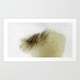 Hair in Wax Art Print