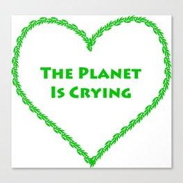 Our Planet Canvas Print