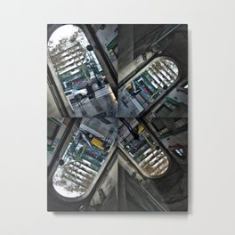 "Thursday 13 December 2012: ""...I walk through walls..."" Metal Print"