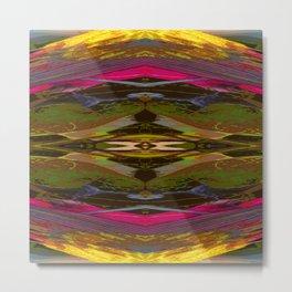 Internal Kaleidoscopic Daze-11 Metal Print