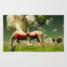 Pegasus Divided Rug