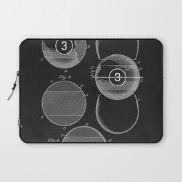 Billiard Balls 1910 Laptop Sleeve