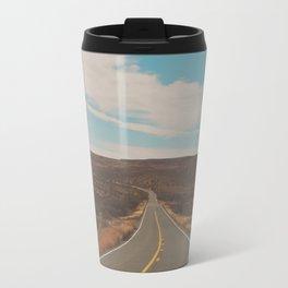 explore. adventure. Open Road Travel Mug