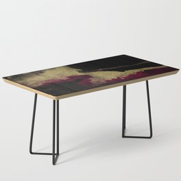 Black Honey - resin abstract painting Coffee Table