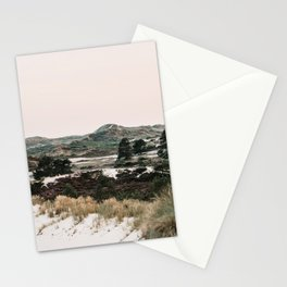Dunes and heather of the Dutch coast Hargen aan zee Stationery Cards