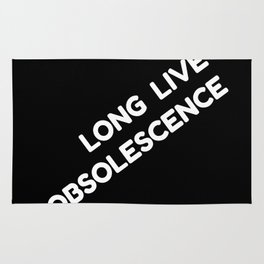 Long Live Obsolescence: White Rug