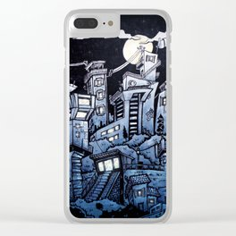 Hometown Clear iPhone Case