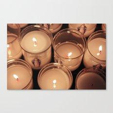 Candles Canvas Print