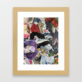 New test up and diet inc Framed Art Print