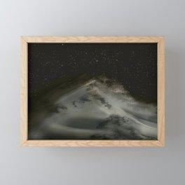 Timeless sand dunes Framed Mini Art Print
