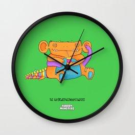 The GorgledeeFuzzwoopsydayzee Wall Clock