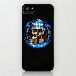 Oberbayer - Bavaria Fun Shirt zum Wohl mitnand Cat iPhone Case