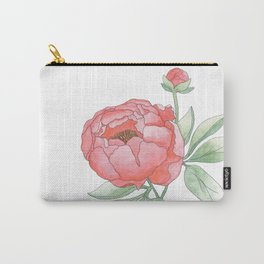 Peony from my Garden Carry-All Pouch