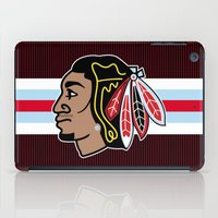 blackhawks iPad Cases featuring Blackhawks Inspired D Rose by beejammerican