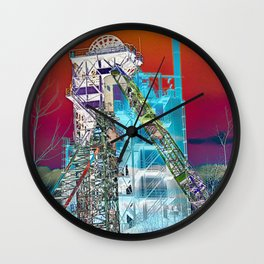 RUHRPOTT in Germany Wall Clock