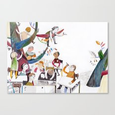 the classroom Canvas Print