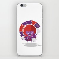 magneto iPhone & iPod Skins featuring Magneto (style) by Seez