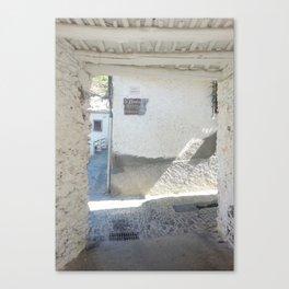 Spain Mediterranean Summer Photography - Landscape Photography Canvas Print