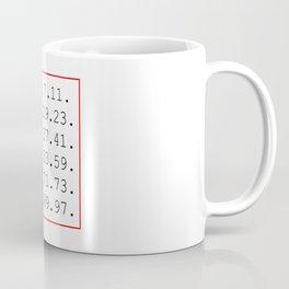 prime number Coffee Mug