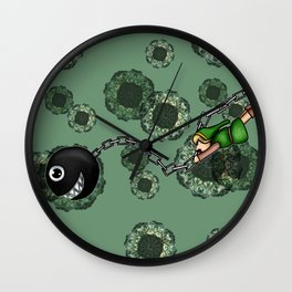 Link and Bow-Wow Wall Clock