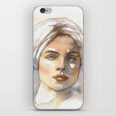 turbante iPhone & iPod Skin