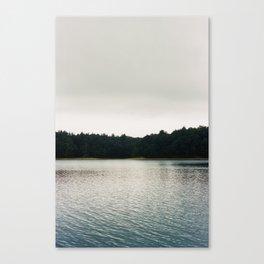 Cool Shades on Walden Pond - 35mm Film Canvas Print