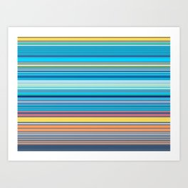 The Colour of Digital Money Art Print