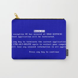 Brain.dll BSOD Carry-All Pouch