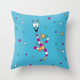 Mr. DNA 1 Throw Pillow
