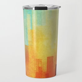 Urban sunset Travel Mug
