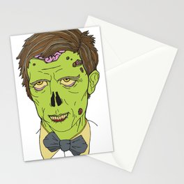 Gentleman Zombie Stationery Cards