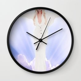 Lindsay Lohan - Jesus Parody Wall Clock