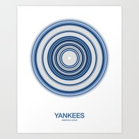 New York (Bronx) rings Art Print