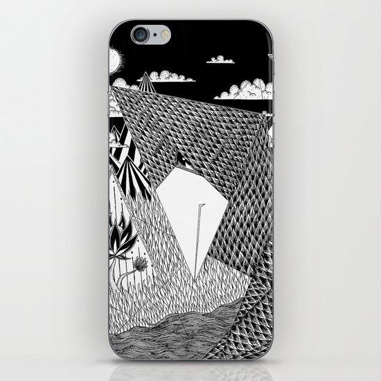 Bird Crossing over the full moon iPhone & iPod Skin