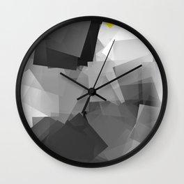 Digi-Cubistic Wall Clock