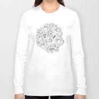 moss Long Sleeve T-shirts featuring MOSS by AnnaToman
