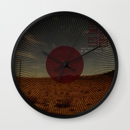 Les Deux Coeurs Wall Clock