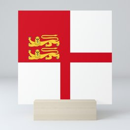 Bailiwick of Guernsey part sark island flag symbol Mini Art Print