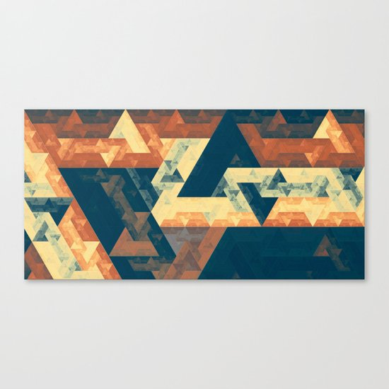 abstract oblivion Canvas Print