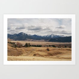 Livingston, MT Art Print