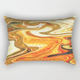 Marbled XIII Rectangular Pillow