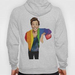 louis in rainbow jacket Hoody