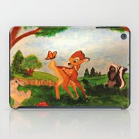 bambi iPad Cases featuring Bambi by Jadie Miller
