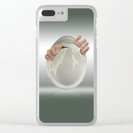 Hatched? Clear iPhone Case
