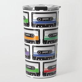 Retro Cassettes Travel Mug