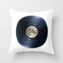Moon on the Water Throw Pillow