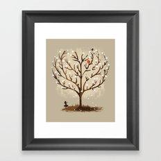 Catch in LOVE Framed Art Print