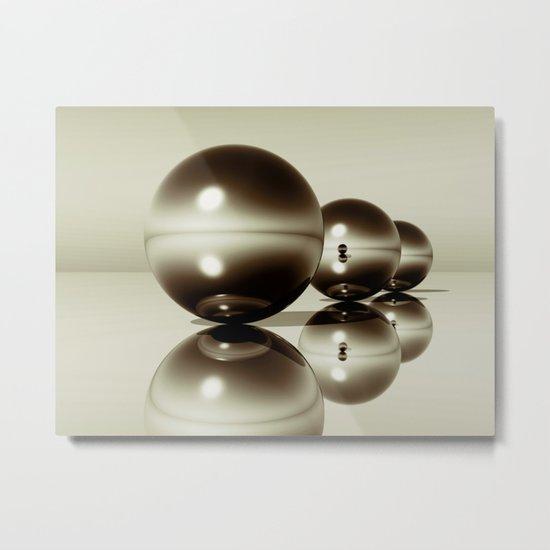3spherescoffee Metal Print