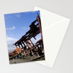 Wreck of the Peter Iredale Stationery Cards