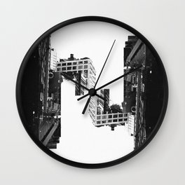 City Stair Wall Clock